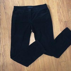 Theory Velvet Straight Leg Pants